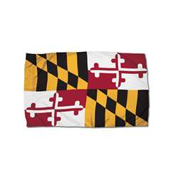 3X5 Nylon Maryland Flag Heading & Grommets, FZ-2192051