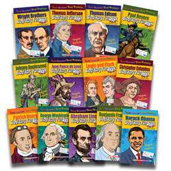 Biography Funbooks Presidents Inventors & Explorers By Gallopade