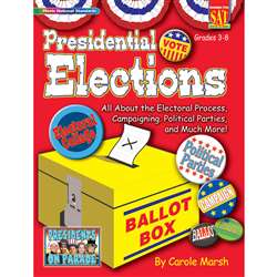 Presidential Election Activity Book, GALPPPELE
