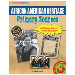 Primary Sources African American Heritage, GALPSPAFRAME
