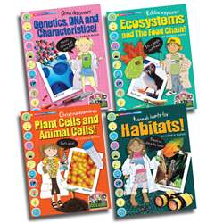 Science Alliance Life Science Set Of All 4 Titles, GALSPSAPLIFEKS
