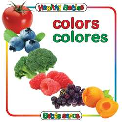 Colors Board Book Bilingual Spanish English, GAR9780983722243