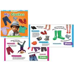Grow with Steam Board Book My Clothes, GAR9781635601756