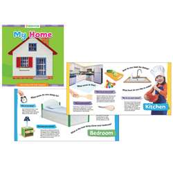 Grow With Steam Board Book My House, GAR9781635601763