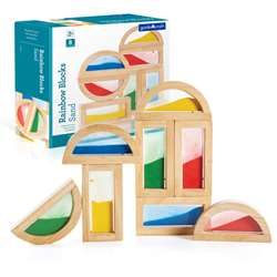 Rainbow Blocks Sand By Guidecraft Usa