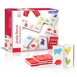 Jumbo Texture Dominoes, GD-5055