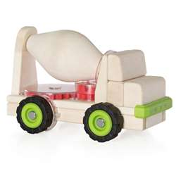 Block Science Trucks Cement Mixer Big Block, GD-7530