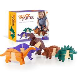 Block Mates Dinosaurs By Guidecraft Usa