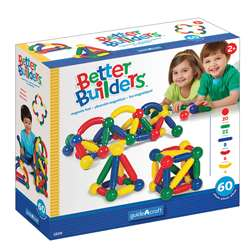 Magneatos Better Builders 60 Piece Set By Guidecraft Usa