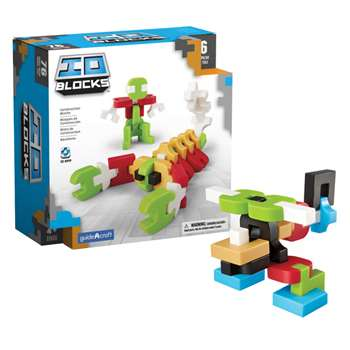 Io Blocks 76 Piece Set, GD-9600