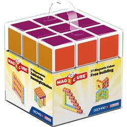 Magicube - 27 Piece Multicolored Free Building Set, GMW128