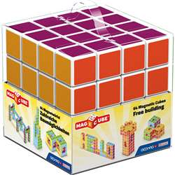 Magicube - 64 Piece Multicolored Free Building Set, GMW129