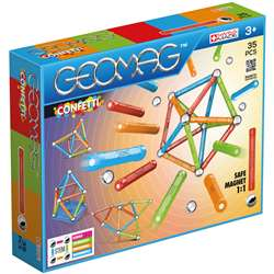 Geomag Confetti Set 35 Pieces, GMW351