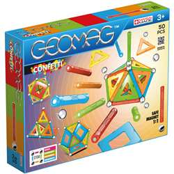 Geomag Confetti Set 50 Pieces, GMW352