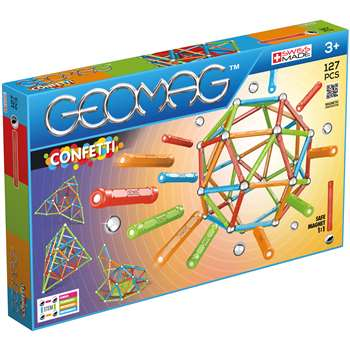 Geomag Confetti Set 127 Pieces, GMW354