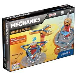 Mechanics Magnetic Motion St 86 Pcs Geomag, GMW761