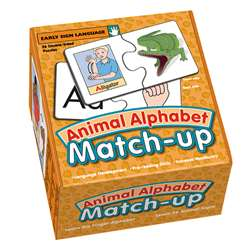 Animal Alphabet Matchup By Garlic Press
