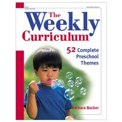 The Weekly Curriculum By Gryphon House