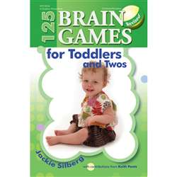 125 Brain Games For Toddlers & Twos, GR-13534