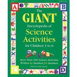 The Giant Encyclopedia Science Ages 3-6 By Gryphon House