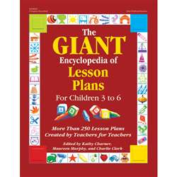 The Giant Encyclopedia Of Lesson Plans For Children 3 To 6 By Gryphon House