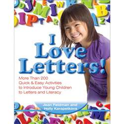 Quick & Easy Activities I Love Letters By Gryphon House