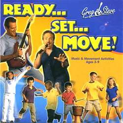 Greg & Steve Ready Set Move Cd By Greg & Steve Productions