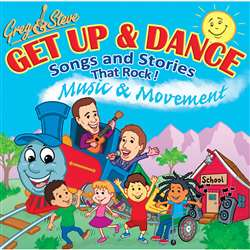 Greg And Steve Get Up And Dance Cd, GS-023CD