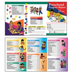 Preschool Progress Report 10Pk Age4 By Hayes School Publishing