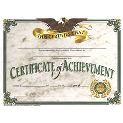 Certificates Of Achievement 30/Pk 8.5 X 11 By Hayes School Publishing