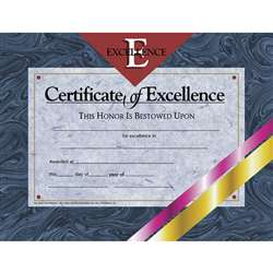 Certificates Of Excellence 30 Pk 8.5 X 11 By Hayes School Publishing