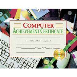 Certificates Computer 30/Pk 8.5X11 Achievement By Hayes School Publishing