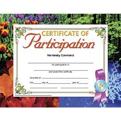 Certificates Of Participation 30 Pk 8.5 X 11 Inkjet Laser By Hayes School Publishing