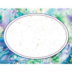Purple Marble/Oval Certificate Border/Computer Paper By Hayes School Publishing