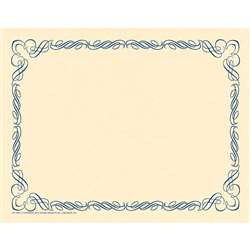 Arabesque Border Paper Blue, H-VA911
