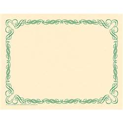 Arabesque Border Paper Green, H-VA913