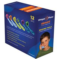 Whisperphone Varietypak Of 12 2 Ea Of 6 Colors, HB-WPEVP12