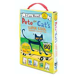Pete The Cats Super Cool 5 Bk Set, HC-9780062304247