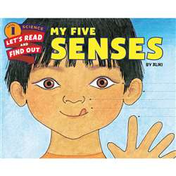 My Five Senses Book, HC-9780062381927