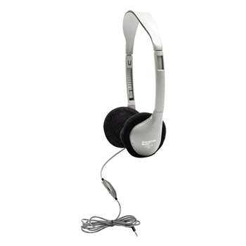 Personal Stereo Mono Headphones Foam Ear Cushions W/ Volume Contrl By Hamilton Electronics Vcom