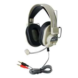 Deluxe Multimedia Headphone W/ Mic By Hamilton Electronics Vcom