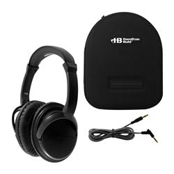 Noise Cancelling Headphones with Case, HECNCHBC