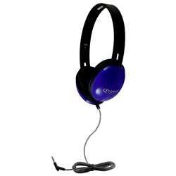 Primo Stereo Headphones Blue, HECPRM100