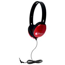 Primo Stereo Headphones Red, HECPRM100R