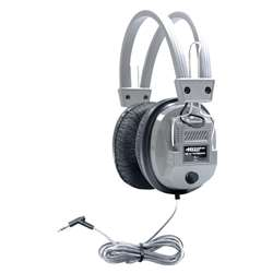 Deluxe Stereo/Mono Headsets 1/8Plus & 1/4Adapter With Volume Control By Hamilton Electronics Vcom