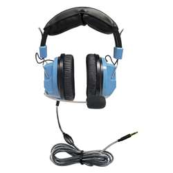 Deluxe Headset With Mic And Volume Trrs Plug, HECSCGAMV