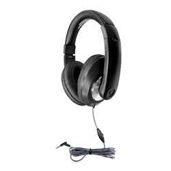 "Headphone with "" Line Volume Control, HECST1BK"