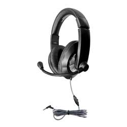 Headset with Volume Control & Usb Plug, HECST2BKU
