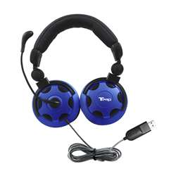 T Pro Usb Headset with Noise Cancelling Mic, HECTP1USB