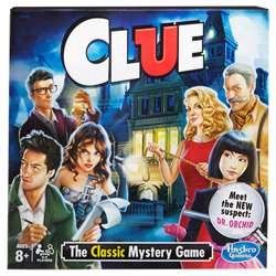 Clue The Classic Mystery Game, HG-A5826
